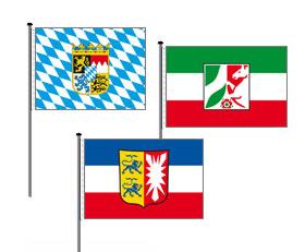 Bundesländerfahnen