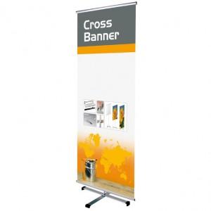 Cross Banner Stand, einseitig