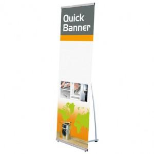 Quick L-Banner, einseitig