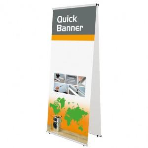 Quick Banner, doppelseitig