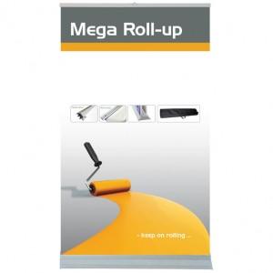 Mega Roll-up, doppelseitig
