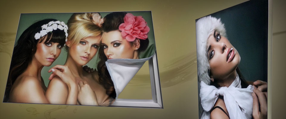 In-Frame Textilspannrahmen